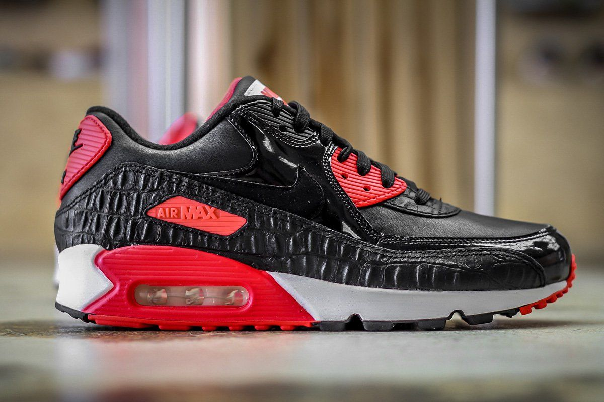 nike air max 90 infrared croc for sale