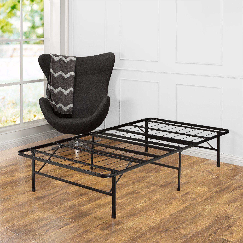 zinus 14 inch smartbase mattress foundation platform bed frame box