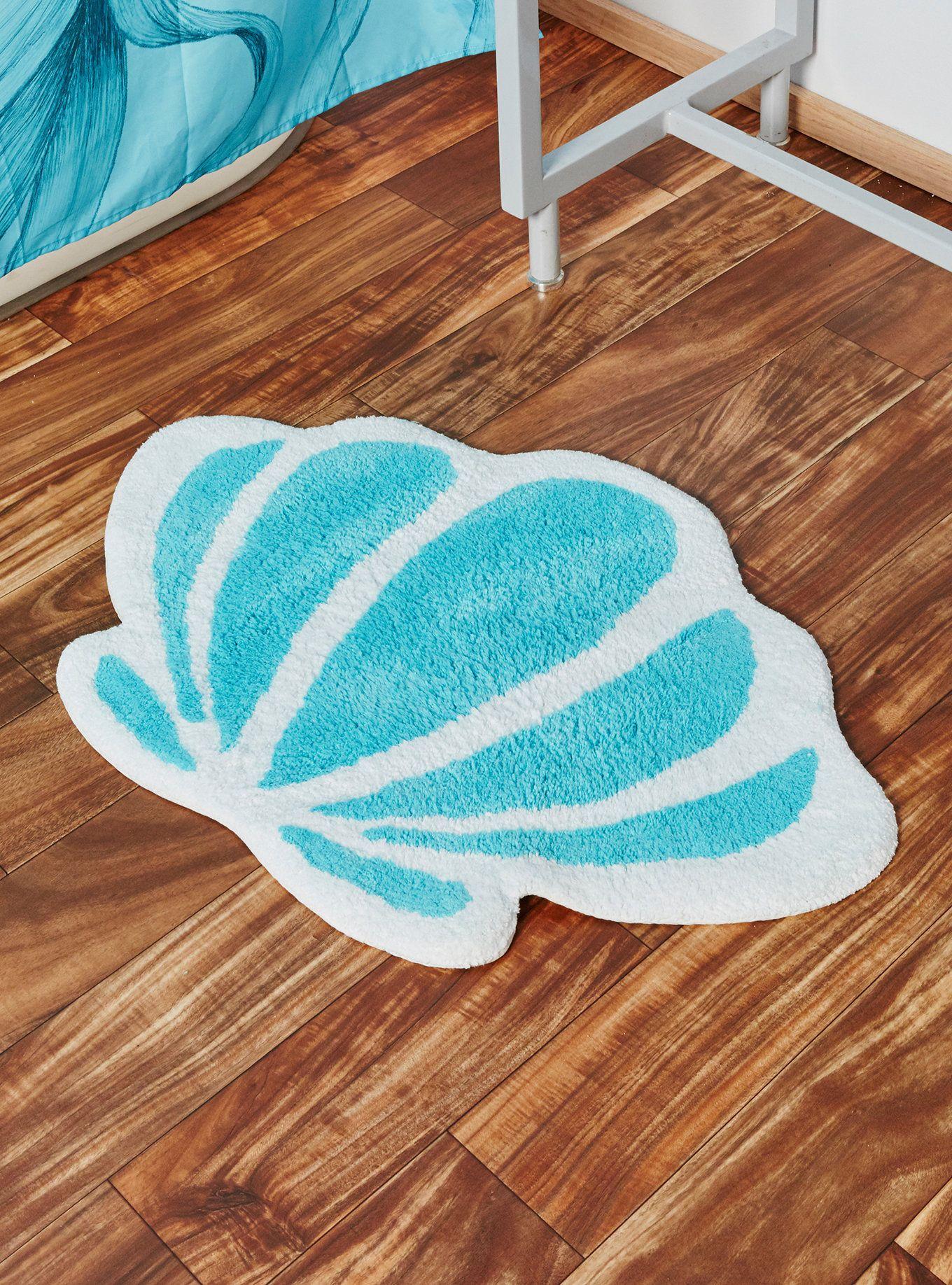 Disney The Little Mermaid Seashell Bath Rug Seashell Bath Rug