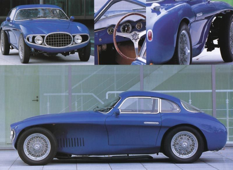 Vintageclassiccars 1952 Osca Mt4 Berlinetta By Vignale Cars