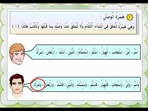 همزة الوصل وهمزة القطع Love Quotes For Him Arabic Resources Arabic Books
