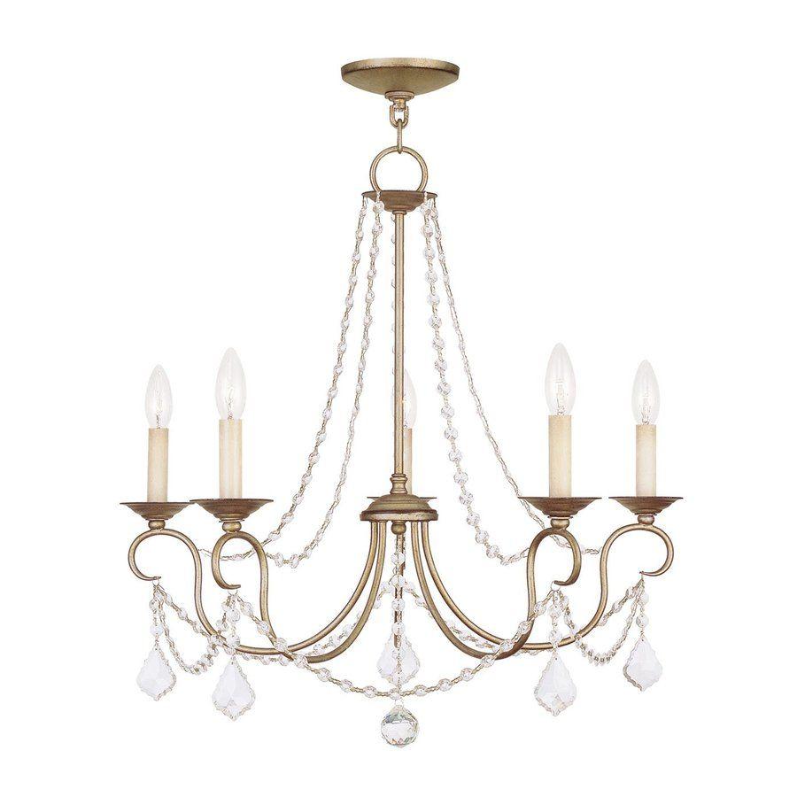 Livex lighting pennington in light antique silver leaf vintage