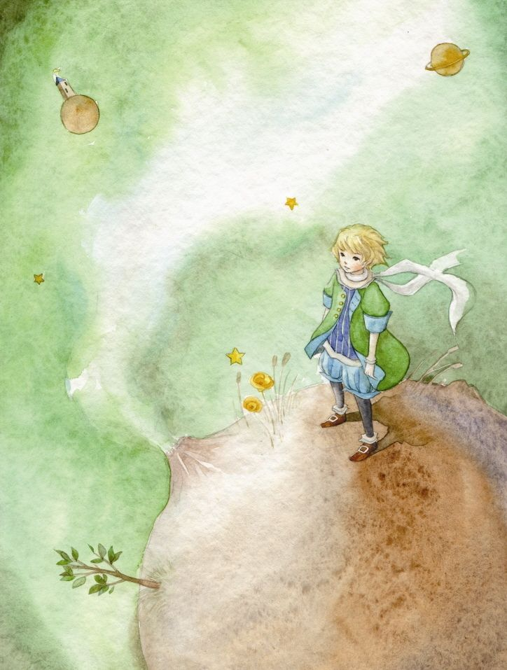 çizgili masallar: The Little Prince by Ya-Ong Nero