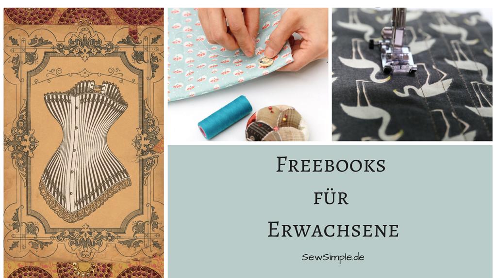 Freebooks: Kleidung für Erwachsene nähen | Dress sewing