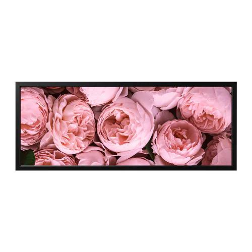 Bjorksta Kep Kerettel Rozsaszin Bazsarozsa Fekete 140x56 Cm Ikea In 2020 Pink Peonies Peonies Ikea Canvas