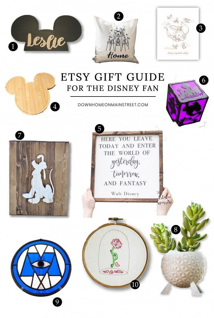 disney gifts for adults etsy