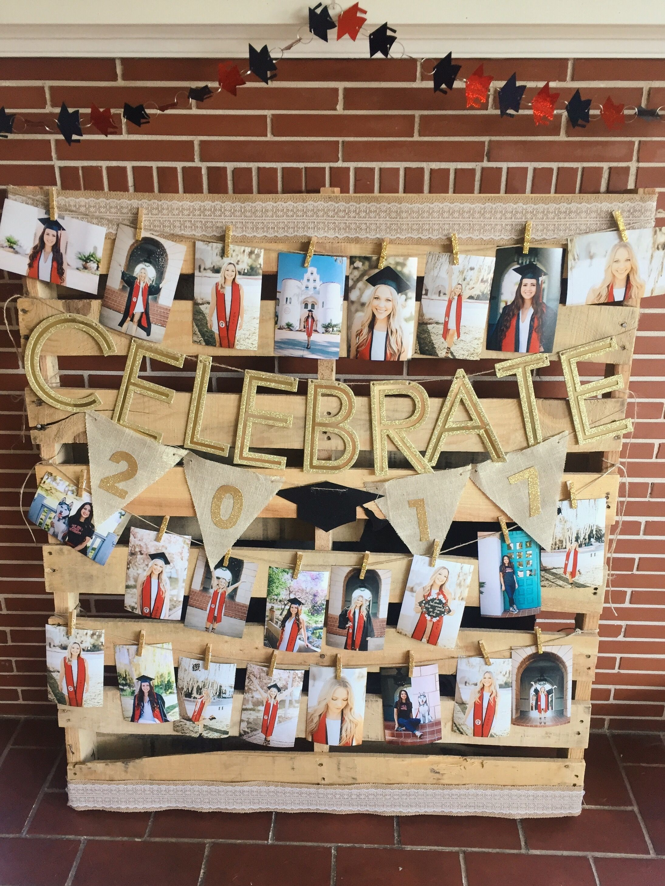 Graduation Party Decorations With Pallets Diy