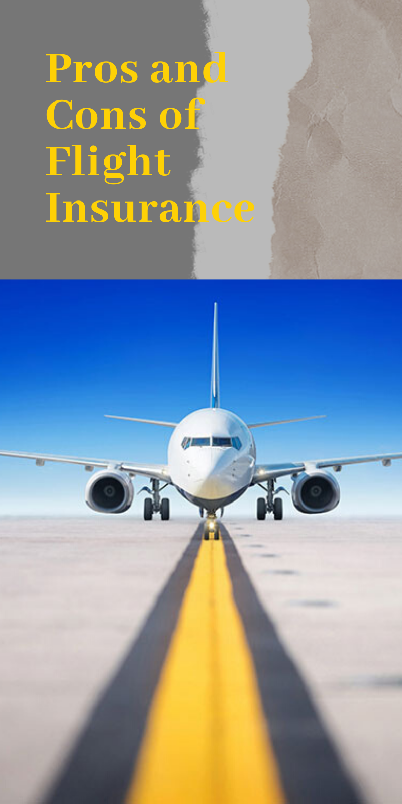 Pros and Cons of Flight Insurance | Travel insurance ...