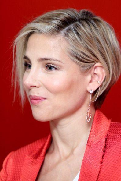 Spanish Actress Elsa Pataky Short Hair Styles Hair Styles Growing Short Hair