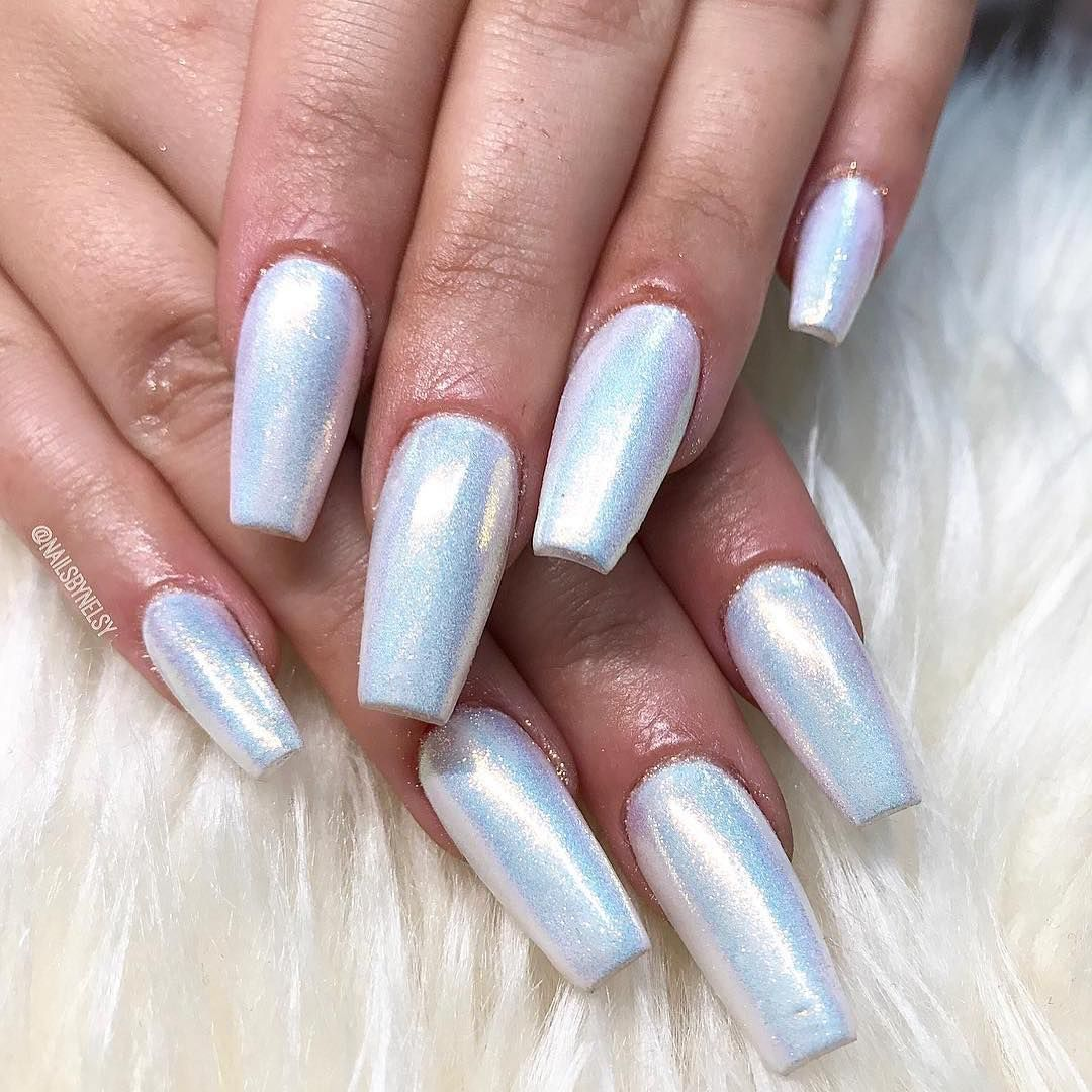Gorgeous #fairydust nails by @nailsbynelsy ✨ Get this look using ...