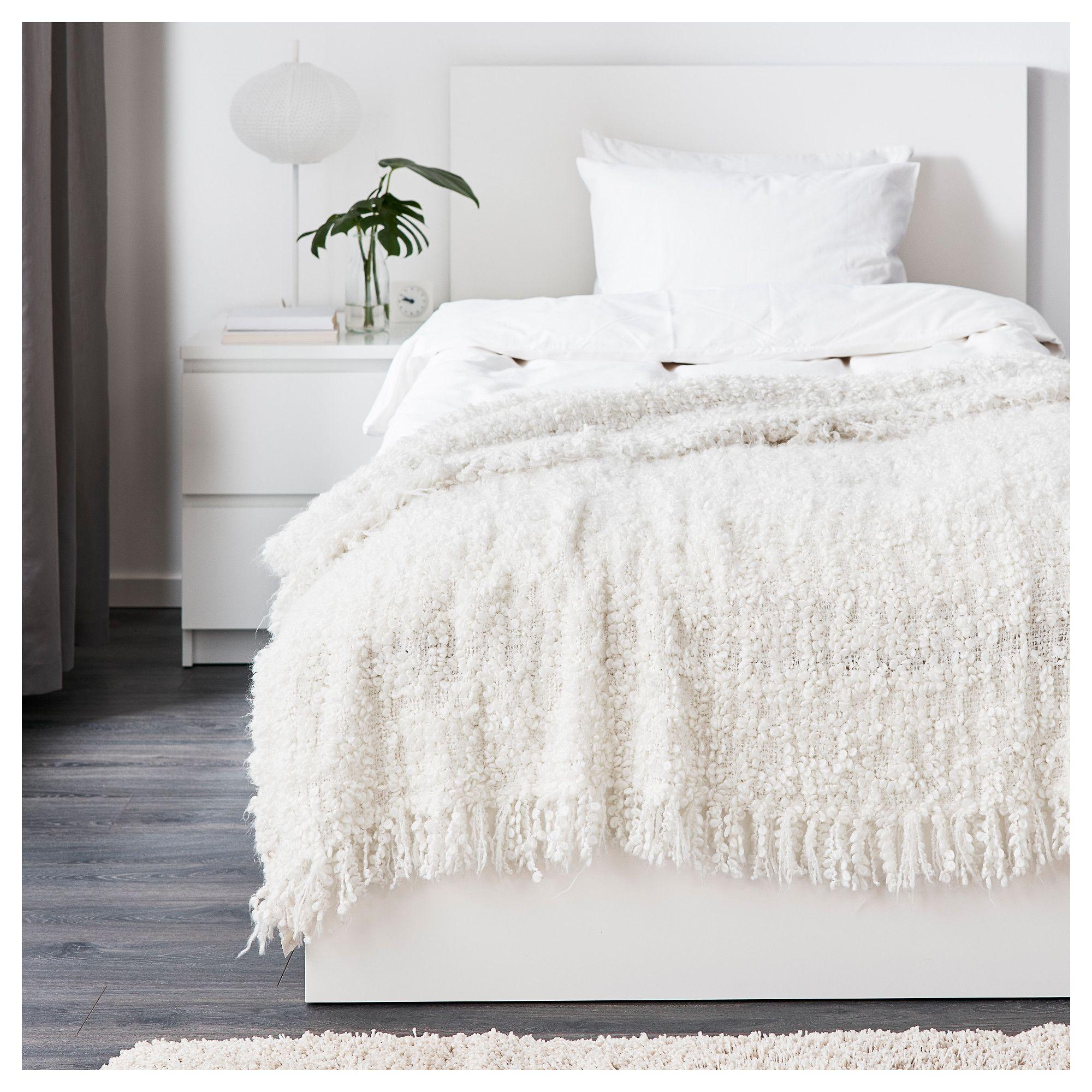 Ikea Ofelia Throw White Beach House Ikea Bedroom