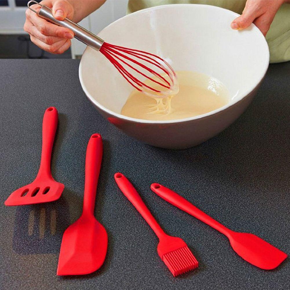 TOOKSA 3 Piece Kitchen Wooden Utensil Set of Premium Acacia Wood Spoon and Turner Spatula Slotted Spoon