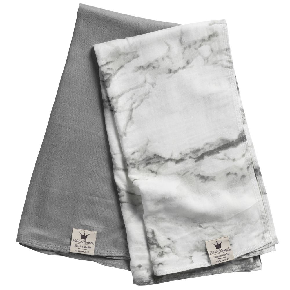 Bamboo Newborn Swaddle Blanket for Babies Marble