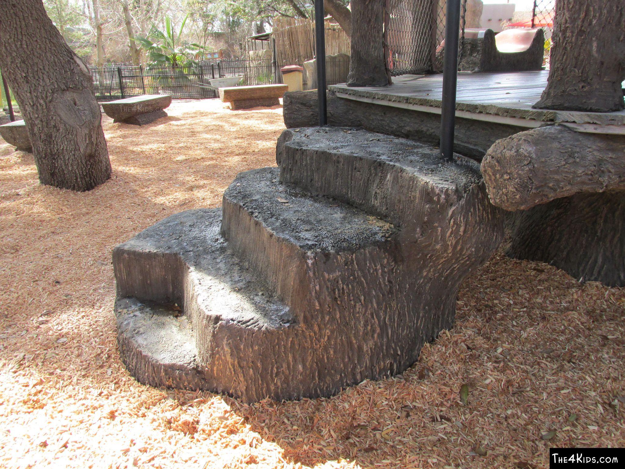 Image of ADA Tree Stump 4' Transfer Station