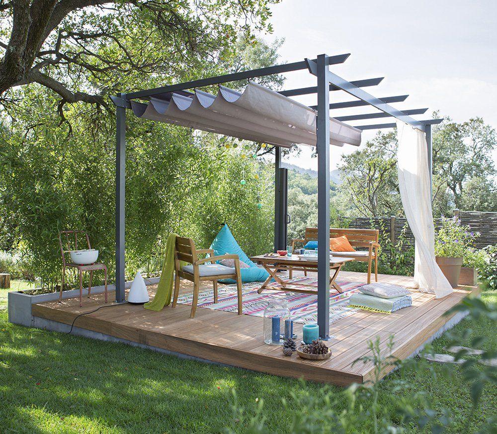 Terrasse couverte : 6 inspirations à copier   Belle, Pergolas and ...