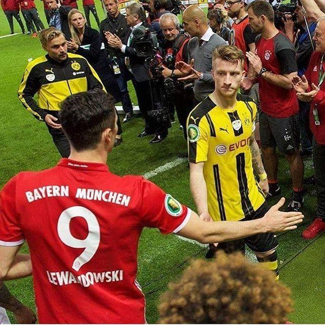 No caption needed... #Reus #Lewandowski