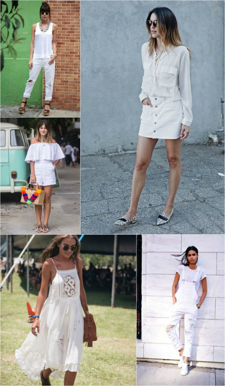 eedd5fd0577f New Years Outfit, Looks Lindos, All White, Tempo, Fashion Ideas, Pereira