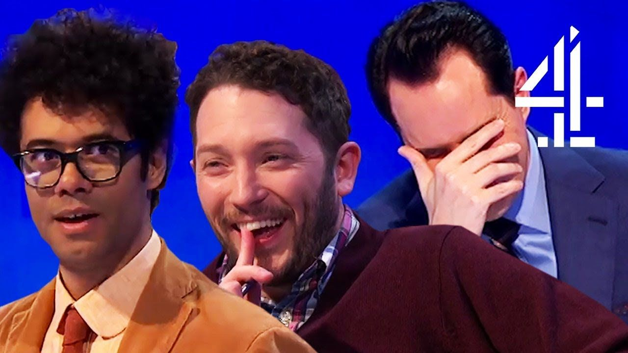 Jimmy Carr Surprises Rachel Riley With Joke 8 Out Of 10 Cats Does Cou Best Insults Funny Moments Jimmy Carr