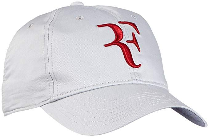 Mens Nike Premier RF Hybrid Adjustable Tennis Hat Dusty Grey Gym Red  371202-065 Review. Find this Pin and more ... 4ea6c317a51c