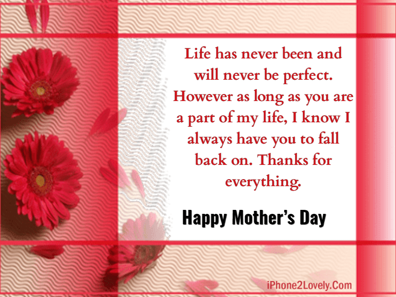 20 Mother S Day Quotes For Stepmom 2019 With Images Iphone2lovely Mothers Day Quotes Mothers Day Poems Happy Mothers Day Images