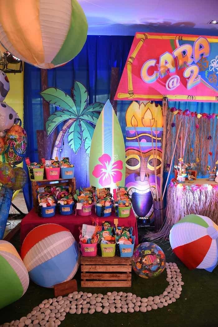 Olaf 39 S Tropical Summer Birthday Party Birthdays Summer