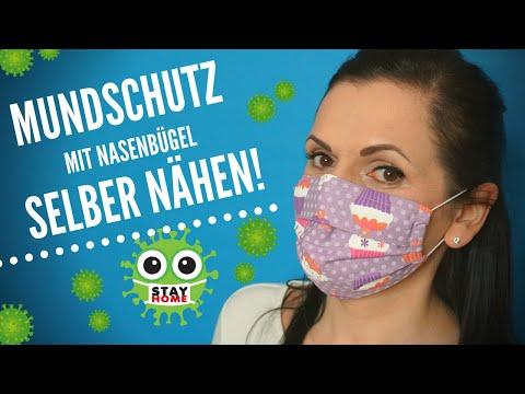 Photo of Mundschutz mit Nasenbügel ganz einfach selber nähen! Perfekt für Anfänger!