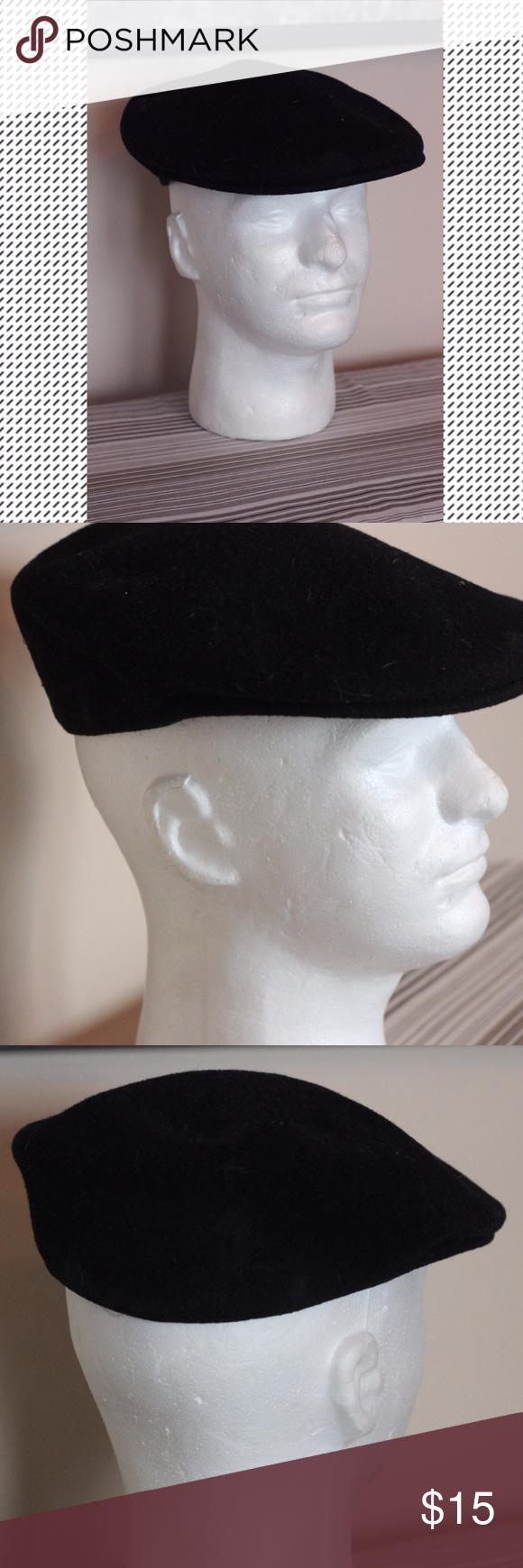 d88e5b1915cab2 Vintage 504 Kangol Hat/Cap in Black Vintage 504 Kangol Cap in Black. Made