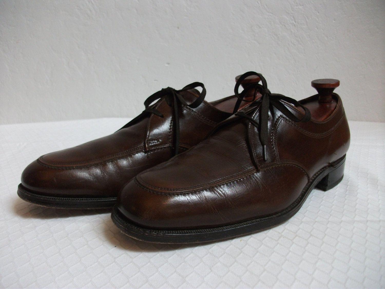 fde2b16e541c2 1960's Men's Brown Leather Florsheim Shoes - Size 10B by ...