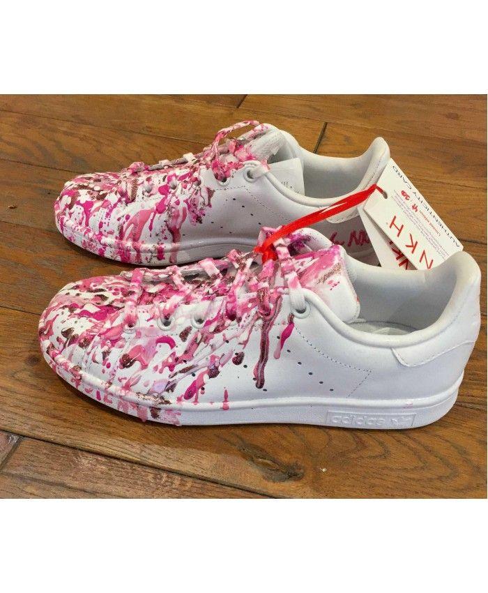 Adidas Stan Smith  mujer blanco Pink venta Adidas Stan Smith  mujers