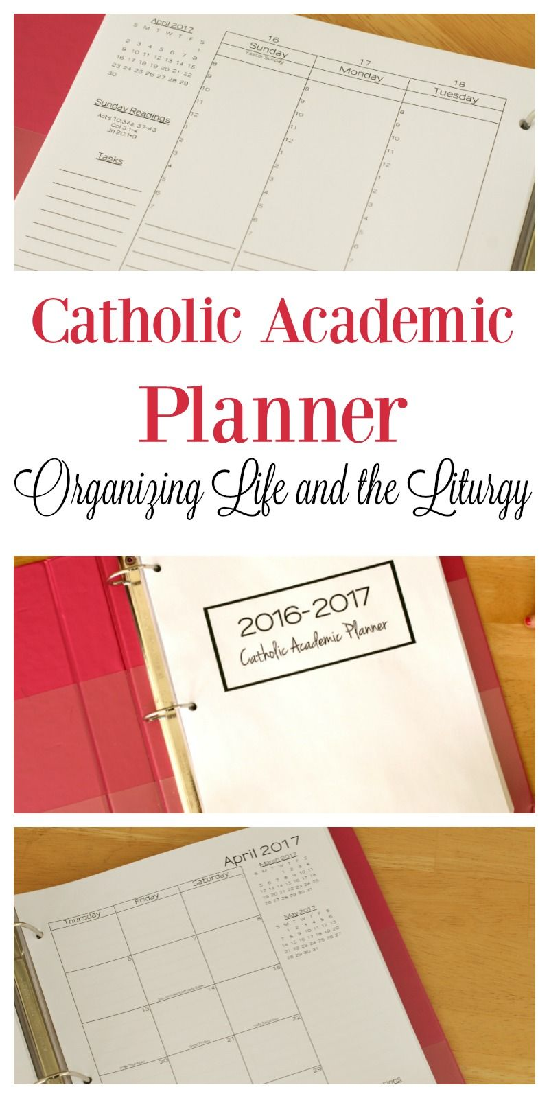 Instant download catholic academic planner perfect for instant download catholic academic planner perfect for homeschoolers moms and other busy catholics fandeluxe Gallery