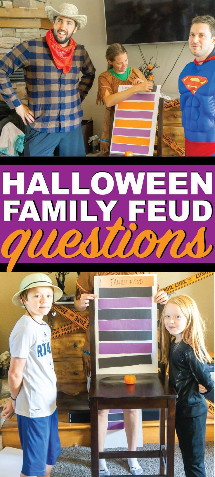 Halloween Family Feud Questions Fun halloween games