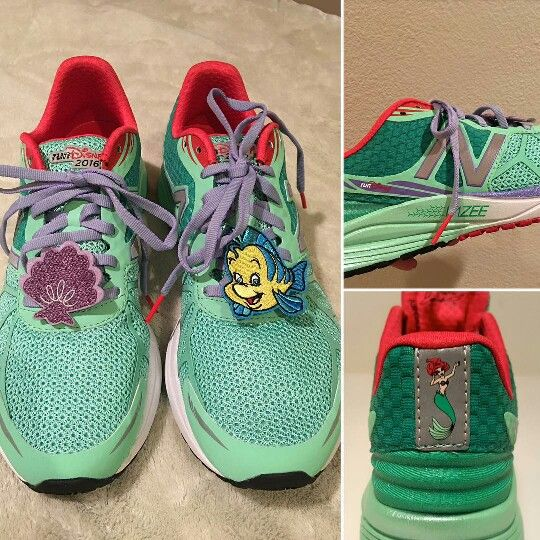 little mermaid new balance sneakers