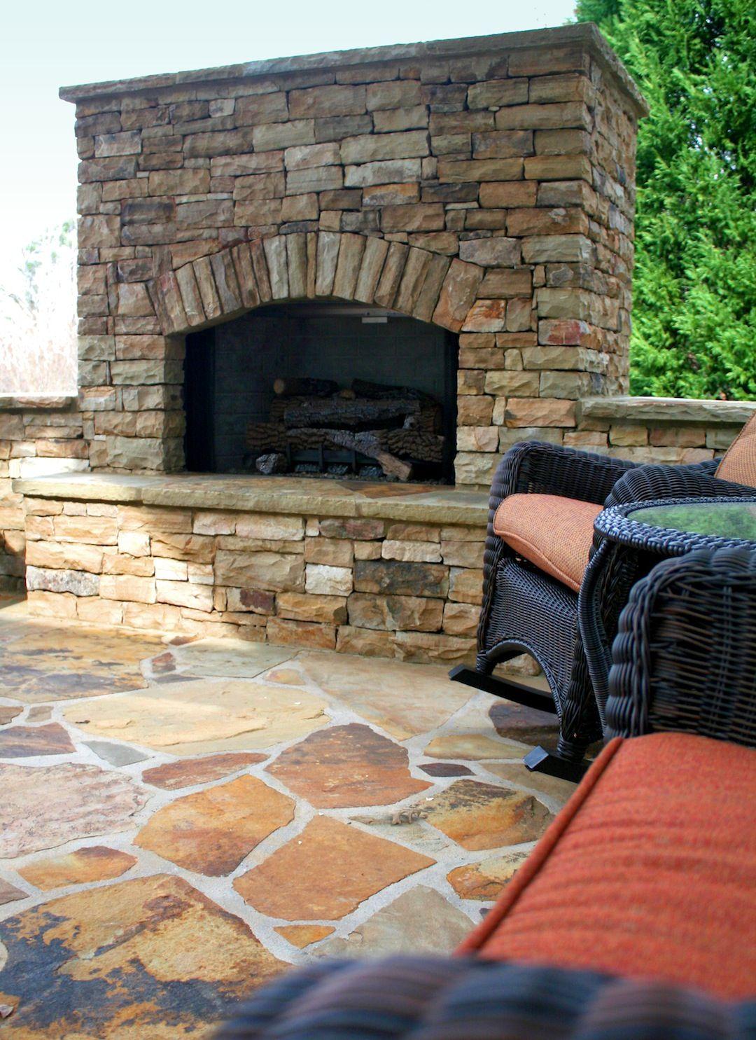 outdoor lifestyles carolina gas fireplace patio porch