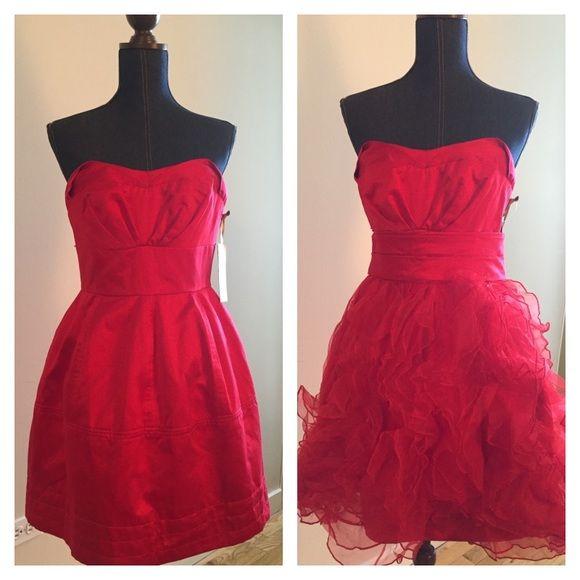 Nwt Zac Posen For Target Strapless Mini Dress Set Strapless Mini