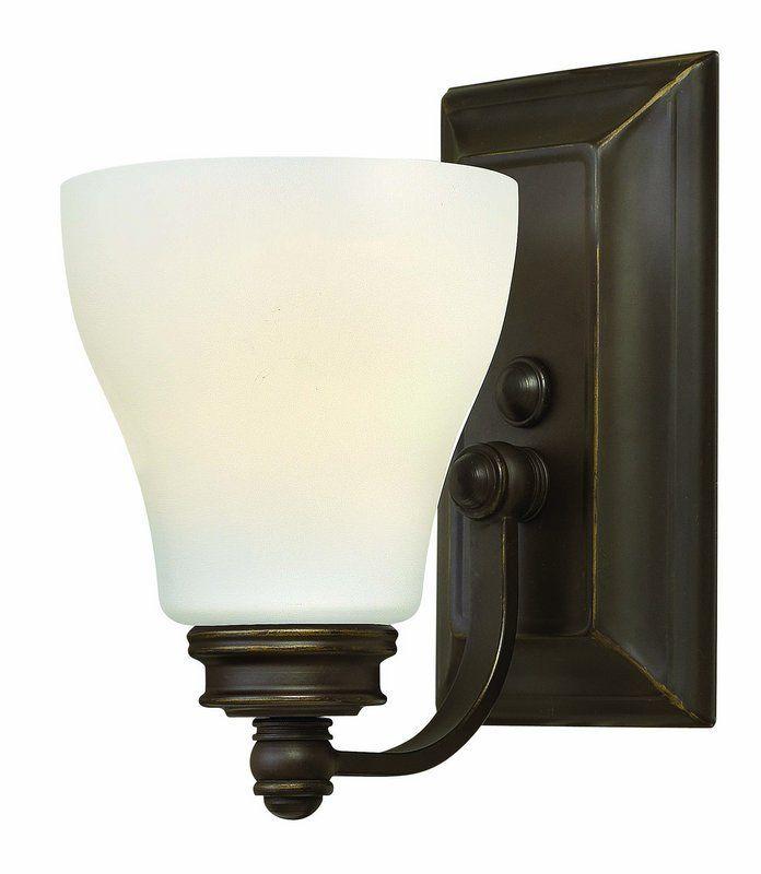 Hinkley Lighting 53580 1 Light 525 Width Bathroom Sconce From The