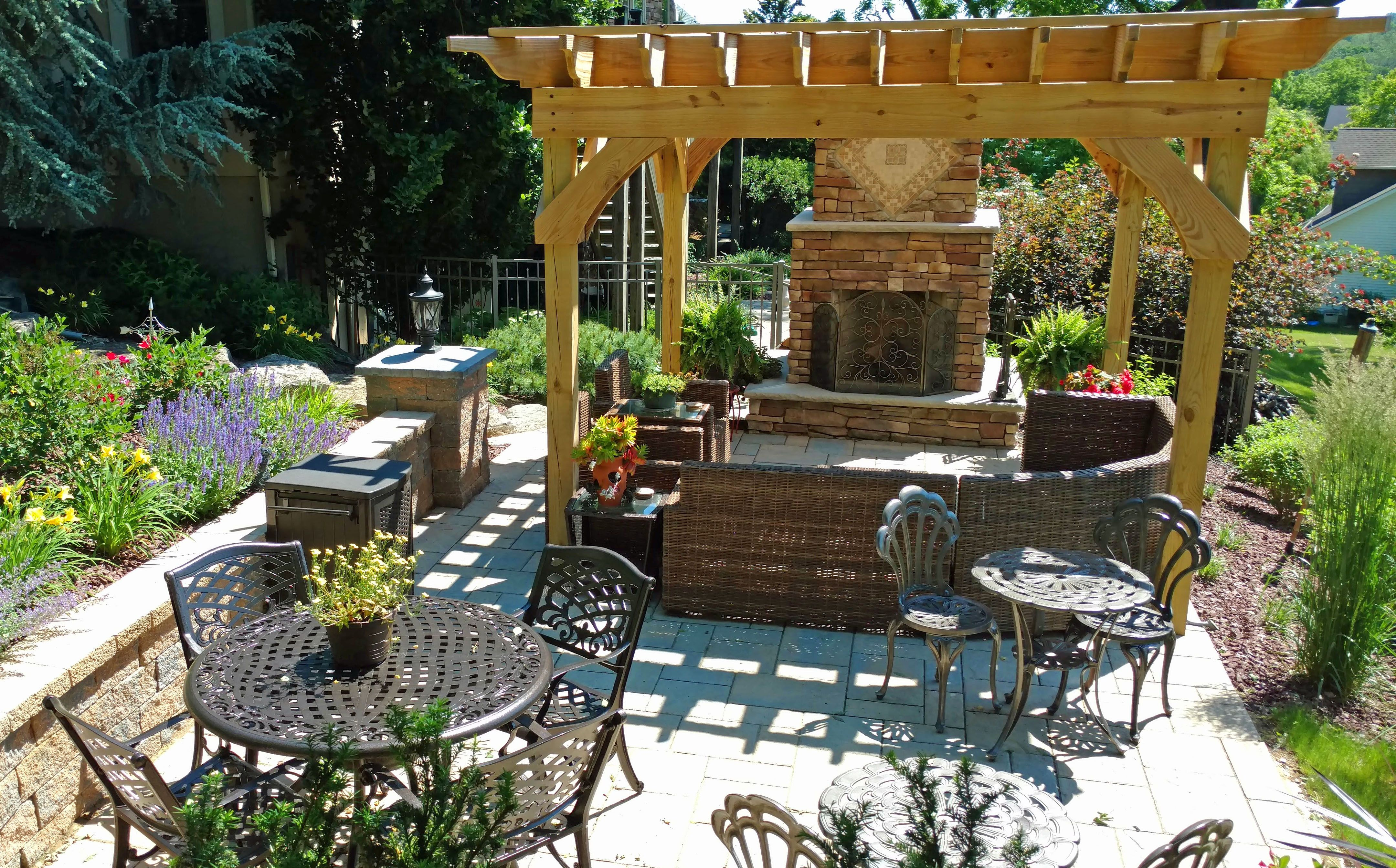Awesome Outdoor Fireplace Patio Design Ideas Modern Cool At Outdoor Fireplace Patio House Decorating Patio Outdoor Patio Designs Colorful Patio