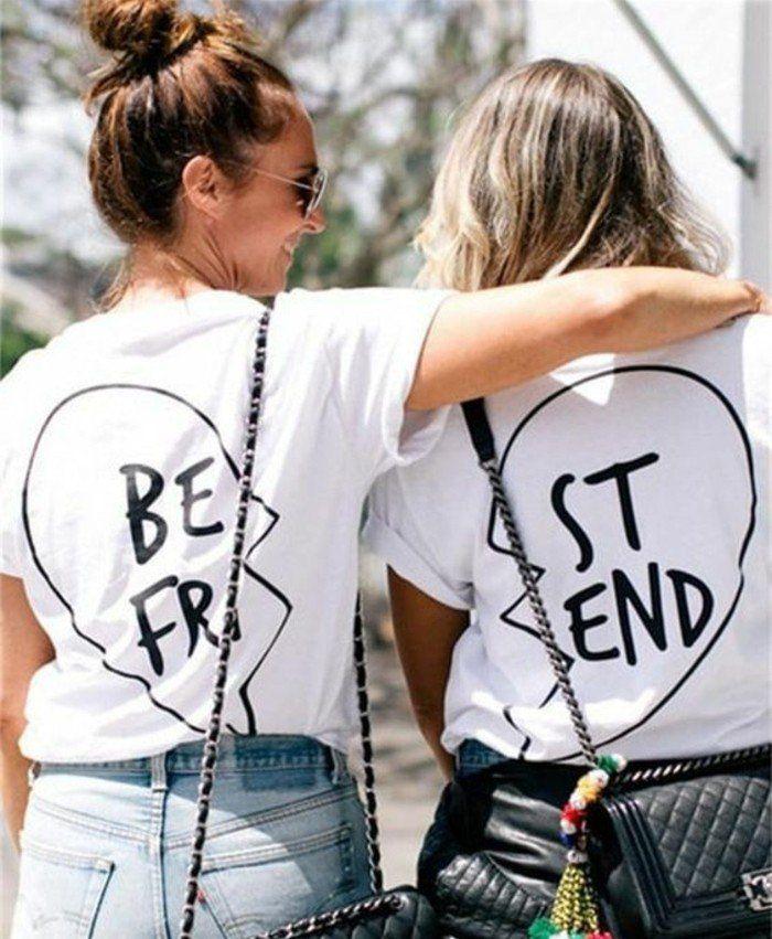 1001 id es de cadeau fabriquer pour sa meilleure amie cadeaux meilleur ami tee shirts et. Black Bedroom Furniture Sets. Home Design Ideas