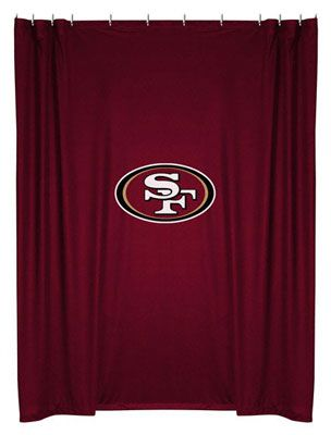 San Francisco 49ers Shower Curtain With Images San Francisco