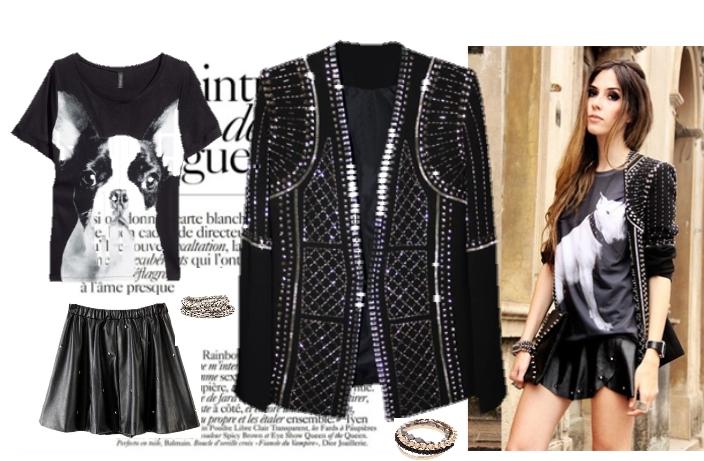 glam rock, fashion, look