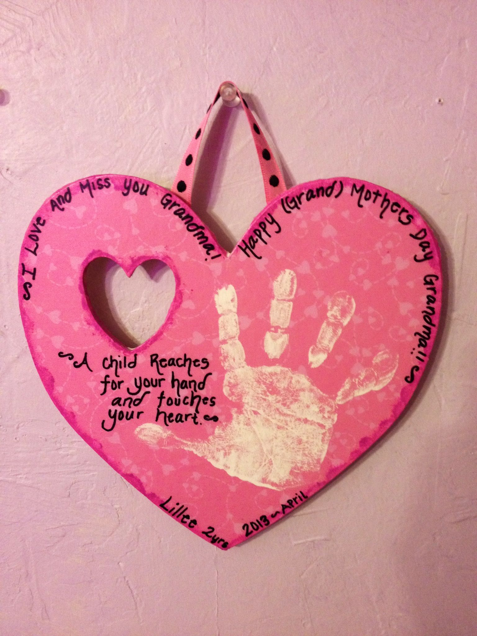 Diy Mothers Day Gifts For Grandma Wood Plaque Mother 39s Day Gift For Grandma Craft Ideas