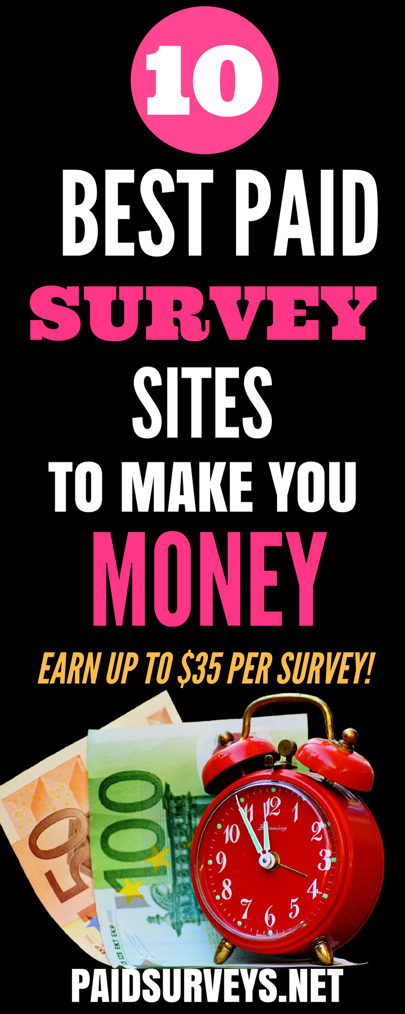 List of 10 websites that Pay you PayPal to Take Surveys