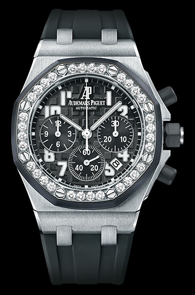 d81d71c9750 Audemars Piguet Ladies Royal Oak Offshore Chronograph, With date and black