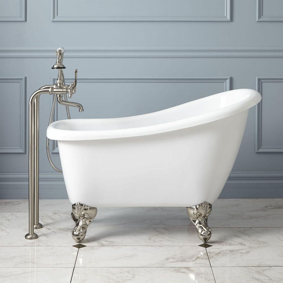 Mini Bathtub and Shower Combos for Small Bathrooms | Clawfoot ...