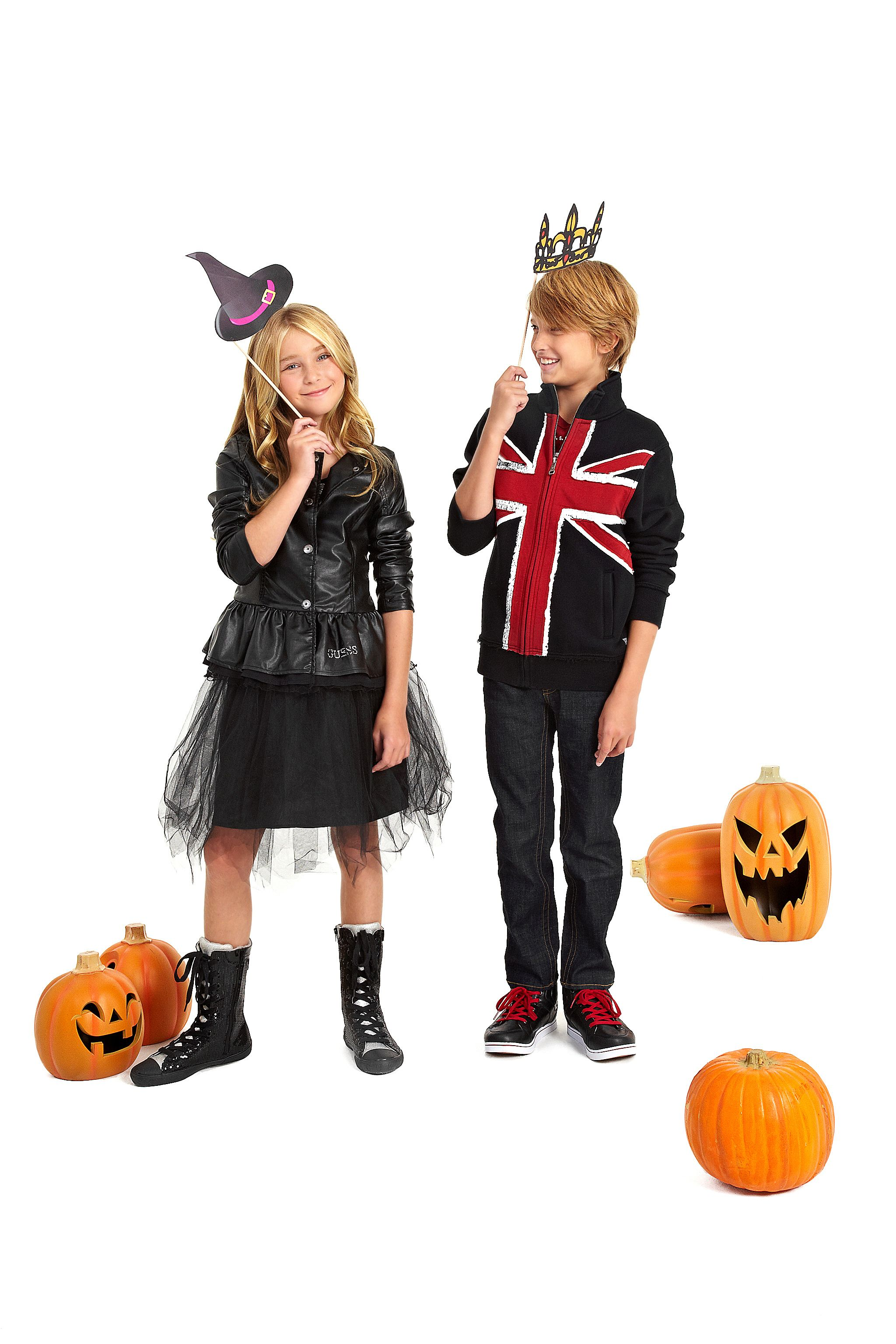 GUESSkids DIY Halloween Costume Ideas: Witch and Prince | Halloween ...