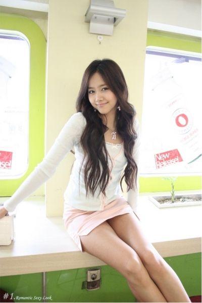 Simply Skirt, A Korean Girl  Korean Fashion, Korean Girl -4381