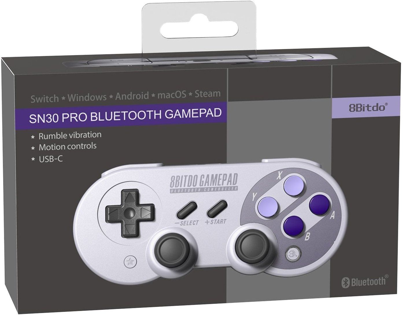 a3eecbde290b9 Amazon.com  8Bitdo SN30 Pro Controller Windows