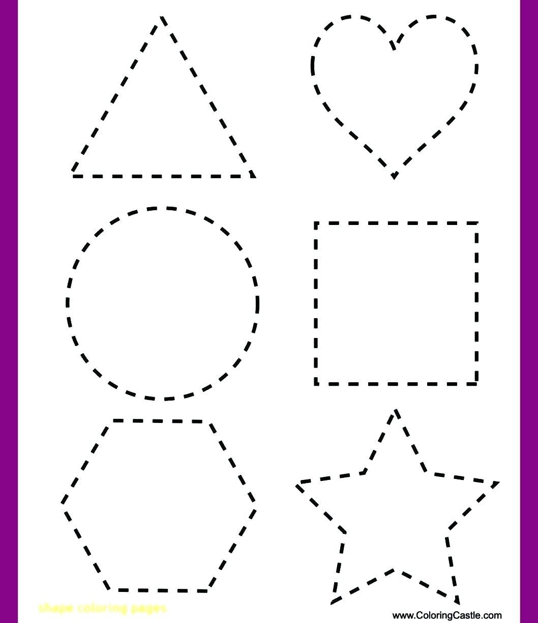Shape Tracing Worksheets To You Shape Tracing Worksheets