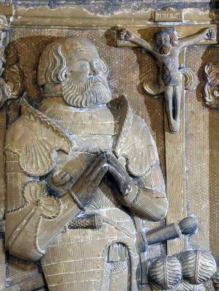 Grabmal Von Gotz Von Berlichingen Im Kloster Schontal Goethe Setzte Dem Germany Imperial Knight Cathedral