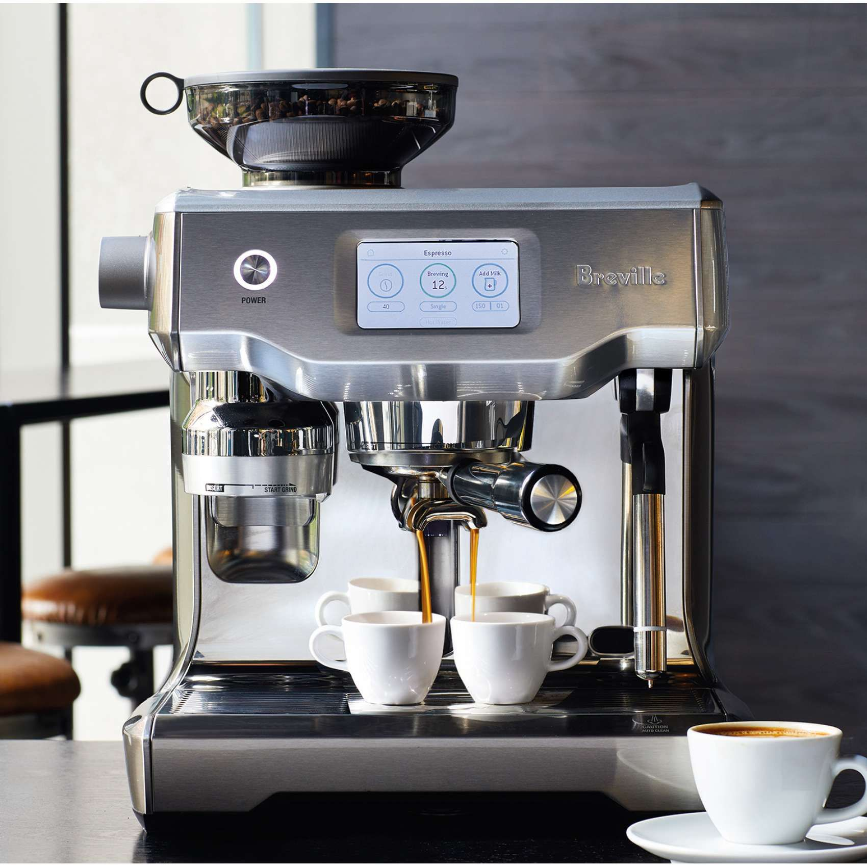 Breville Oracle Touch Sur La Table With Images Cappuccino