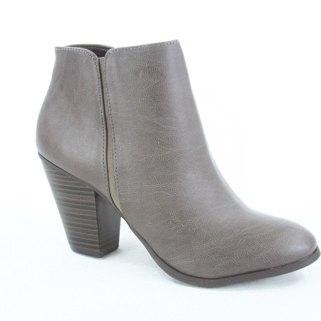 Grey 'sister' suede heeled boots free shipping 2014 new lh88KPF